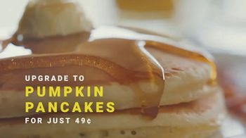 Denny's Super Slam TV Spot, 'Back with Pumpkin Pancakes!' - Thumbnail 7