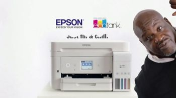 Epson EcoTank TV Spot, 'Comes With Lots of Ink So You Can Print Lots of Pages' Ft. Shaquille O'Neal - Thumbnail 10