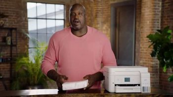 Epson EcoTank TV Spot, 'Comes With Lots of Ink So You Can Print Lots of Pages' Ft. Shaquille O'Neal - Thumbnail 6