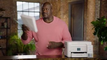 Epson EcoTank TV Spot, 'Comes With Lots of Ink So You Can Print Lots of Pages' Ft. Shaquille O'Neal - Thumbnail 7