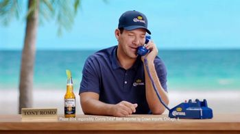 Corona Extra TV Spot, 'Football Superstition' Featuring Tony Romo - Thumbnail 10