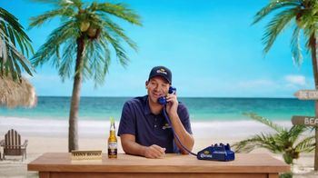 Corona Extra TV Spot, 'Football Superstition' Featuring Tony Romo - Thumbnail 6