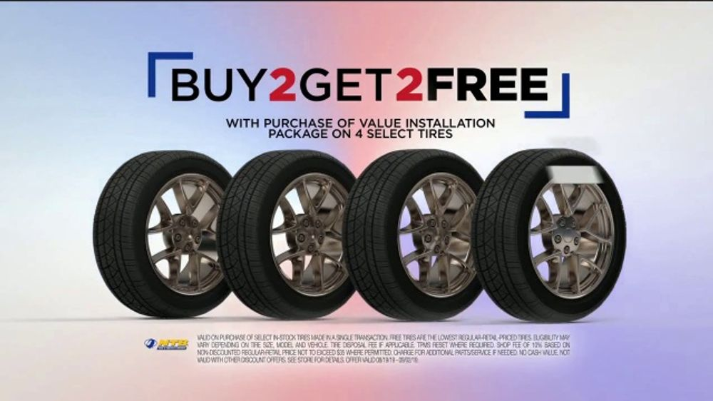 National Tire And Wheel >> National Tire Battery Labor Day Savings Tv Commercial Two Tires Free Mail In Rebate And No Interest Video