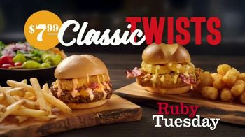 Ruby Tuesday Classic Twists TV Spot, 'Now That's a Twist' - Thumbnail 7