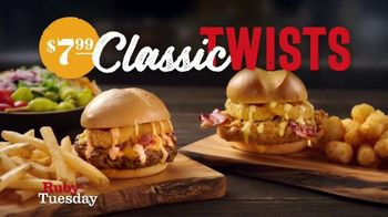 Ruby Tuesday Classic Twists TV Spot, 'Now That's a Twist'