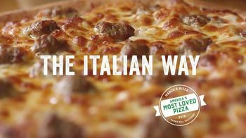 Marco's Pizza TV Spot, 'America's Most Loved Pizza: Two Medium One-Topping Pizzas' - Thumbnail 9