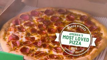 Marco's Pizza TV Spot, 'America's Most Loved Pizza: Two Medium One-Topping Pizzas' - Thumbnail 2