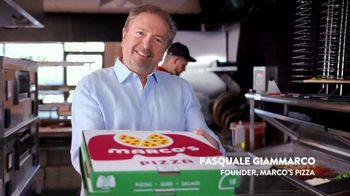 Marco's Pizza TV Spot, 'America's Most Loved Pizza: Two Medium One-Topping Pizzas' - Thumbnail 5