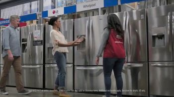 Lowe's Labor Day Savings TV Spot, 'Select Appliances and Valspar Paint' - Thumbnail 4