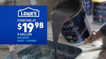 Lowe's Labor Day Savings TV Spot, 'Select Appliances and Valspar Paint' - Thumbnail 7