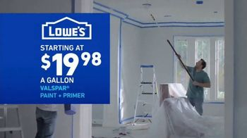 Lowe's Labor Day Savings TV Spot, 'Select Appliances and Valspar Paint' - Thumbnail 8