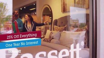 Bassett Half Off Sale TV Spot, 'Once a Year'