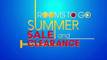 Rooms to Go Summer Sale and Clearance TV Spot, '5-Piece Dining Sets' - Thumbnail 1