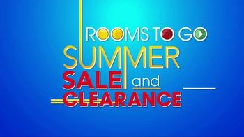 Rooms to Go Summer Sale and Clearance TV Spot, 'Contemporary Sectional' - Thumbnail 1
