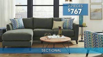 Rooms to Go Summer Sale and Clearance TV Spot, 'Contemporary Sectional' - Thumbnail 5