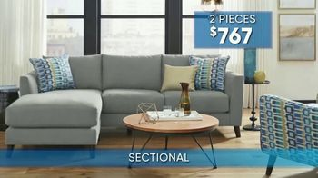 Rooms to Go Summer Sale and Clearance TV Spot, 'Contemporary Sectional' - Thumbnail 6
