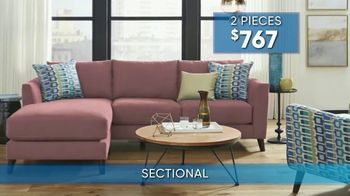 Rooms to Go Summer Sale and Clearance TV Spot, 'Contemporary Sectional' - Thumbnail 7