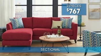 Rooms to Go Summer Sale and Clearance TV Spot, 'Contemporary Sectional' - Thumbnail 8