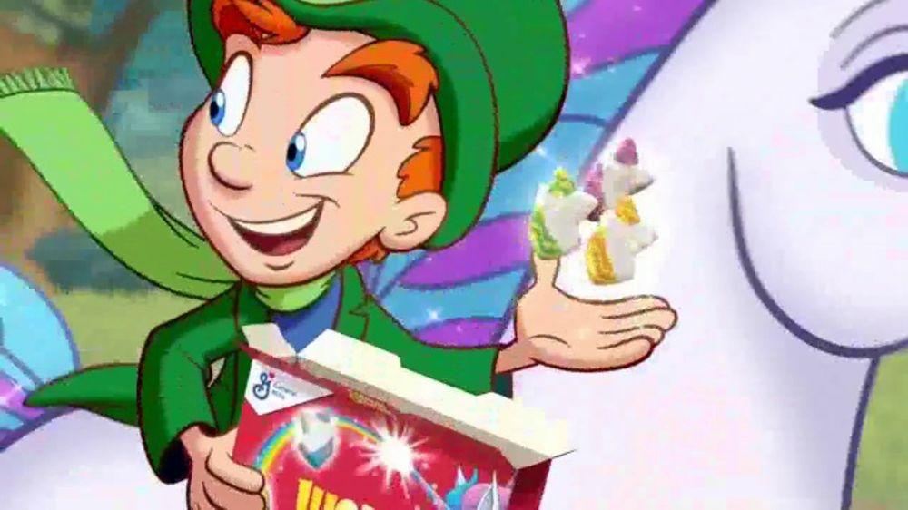 Lucky Charms Tv Commercial Rainbow Unicorn Marshmallows