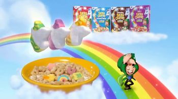 Lucky Charms TV Spot, 'Rainbow Unicorn Marshmallows' - Thumbnail 8