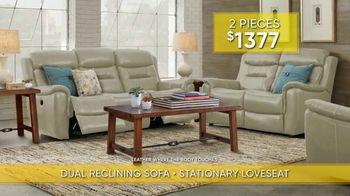 Rooms to Go Summer Sale and Clearance TV Spot, 'Reclining Sofa and Loveseat'