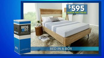 Rooms to Go Summer Sale and Clearance TV Spot, 'Bed in a Box' - Thumbnail 1
