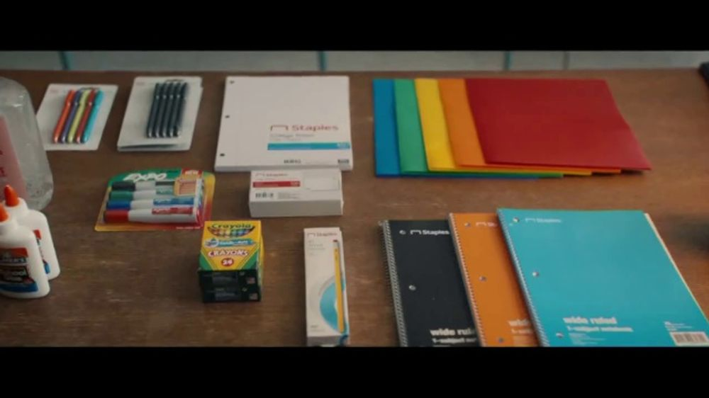 Staples Classroom Rewards TV Commercial, '2019 Back to School: Five  Percent' - Video