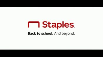 Staples Classroom Rewards TV Spot, 'Back to School: Five Percent' - Thumbnail 10