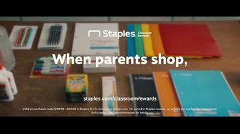 Staples Classroom Rewards TV Spot, 'Back to School: Five Percent' - Thumbnail 8