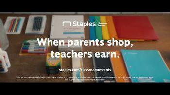 Staples Classroom Rewards TV Spot, 'Back to School: Five Percent' - Thumbnail 9