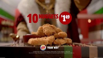Burger King $1 Taco TV Spot, 'Surprise: 10 Nuggets' Song by Lipps, Inc. - Thumbnail 9