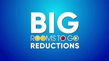 Rooms to Go Summer Sale and Clearance TV Spot, 'Big Reductions' - Thumbnail 4