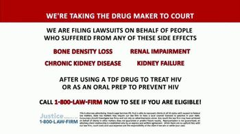 Kresch Legal Services TV Spot, 'TDF Drug for HIV' - Thumbnail 8