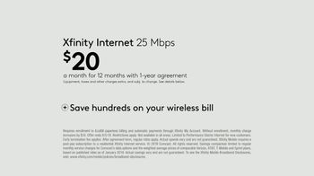 XFINITY Internet TV Spot, 'Keeping Up: $20 a Month' - Thumbnail 7