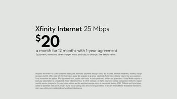 XFINITY Internet TV Spot, 'Keeping Up: $20 a Month' - Thumbnail 6