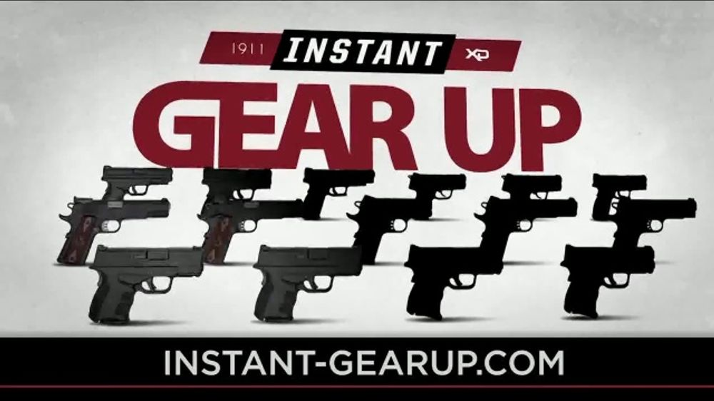Springfield Armory Instant Gear Up TV Commercial, 'Up to $230 of Free Gear'  - Video