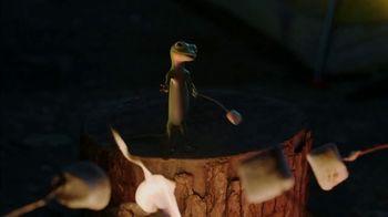 GEICO App TV Spot, 'The Gecko Makes S'mores' - Thumbnail 2