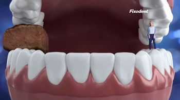 Fixodent Ultra Max Hold TV Spot, 'Lock Your Dentures'