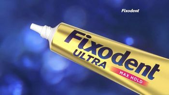 Fixodent Ultra Max Hold TV Spot, 'Lock Your Dentures' - Thumbnail 3