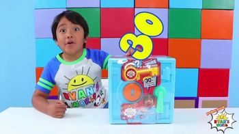 Ryan's World Super Surprise Safe TV Spot, 'Push and Reveal' Featuring Ryan Kaji - Thumbnail 3