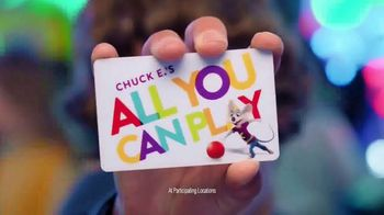 Chuck E. Cheese's All You Can Play TV Spot, 'Tickets Rain From the Sky' - Thumbnail 7