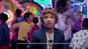 Chuck E. Cheese's All You Can Play TV Spot, 'Tickets Rain From the Sky' - Thumbnail 5