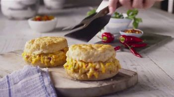 Bojangles' Pimiento Cheese Biscuit TV Spot, 'Give Pimiento Its Respect' - Thumbnail 7