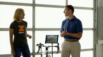 Zwift TV Spot, 'Scan the Code' Featruing Robbie Ventura, Kristin Armstrong