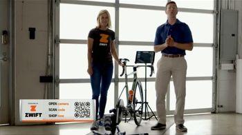 Zwift TV Spot, 'Scan the Code' Featruing Robbie Ventura, Kristin Armstrong - Thumbnail 9