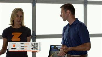 Zwift TV Spot, 'Scan the Code' Featruing Robbie Ventura, Kristin Armstrong - Thumbnail 2