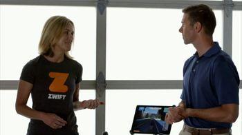 Zwift TV Spot, 'Scan the Code' Featruing Robbie Ventura, Kristin Armstrong - Thumbnail 4
