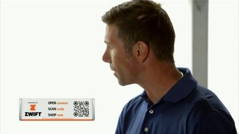 Zwift TV Spot, 'Scan the Code' Featruing Robbie Ventura, Kristin Armstrong - Thumbnail 6