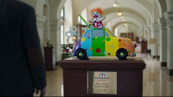 Farmers Insurance TV Spot, \'Three-Ring Fender Bender\'