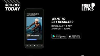 Freeletics TV Spot, 'Tailored to Your Goals' - Thumbnail 8